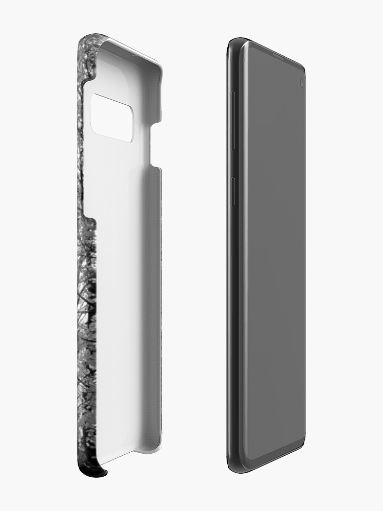 Alternate view of Autumn Trees in Black and White Case & Skin for Samsung Galaxy