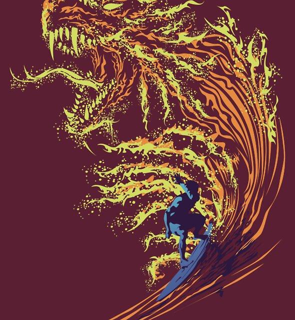 Red Dragon by RAY GARRIDO