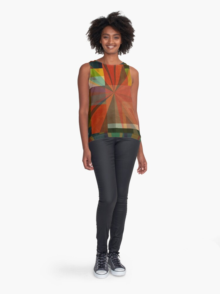 Alternate view of Union Squares Rainbow Nation FIVE Sleeveless Top