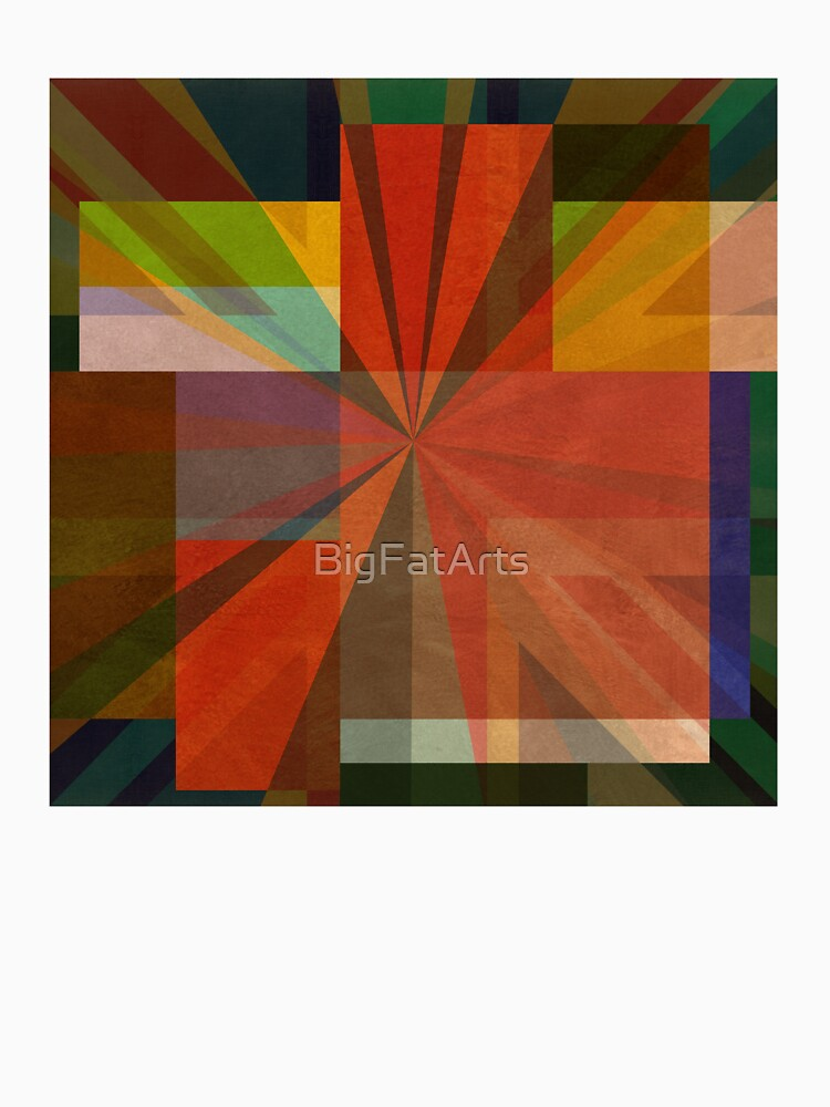 Union Squares Rainbow Nation FIVE by BigFatArts