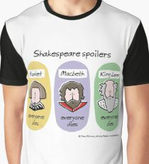Shakespeare spoilers Graphic T-Shirt