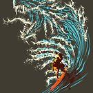 Blue Dragon by RAY GARRIDO