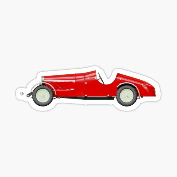 Mercedes-Benz Car Toy (left side) Sticker