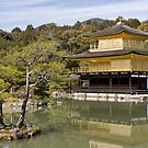 The golden pavilion by Sam  Jackson