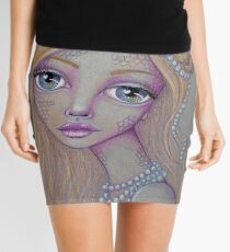 Pearly Mermaid Mini Skirt