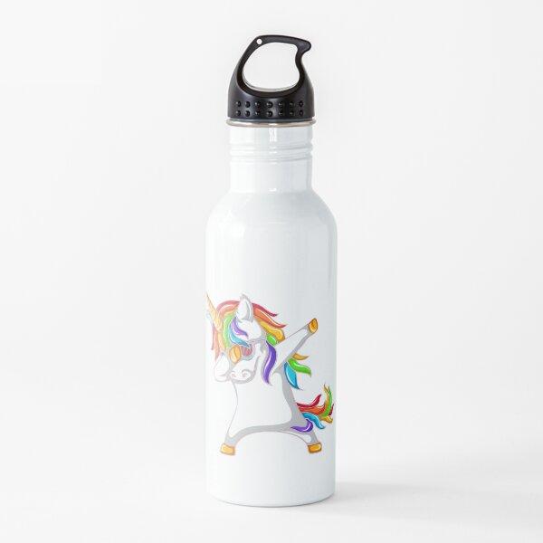 Dabbing unicorn Water Bottle