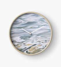 Foundation - water painting Clock