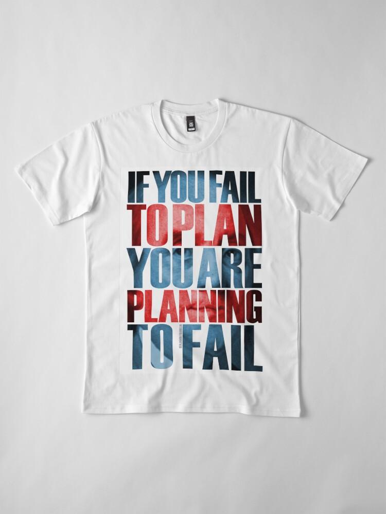 Alternate view of Benjamin Franklin Quote Premium T-Shirt