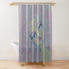 Mermaid Hair Don't Care Shower Curtain
