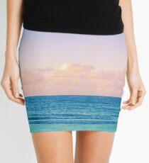 Cotton Candy Beach Sunset Mini Skirt