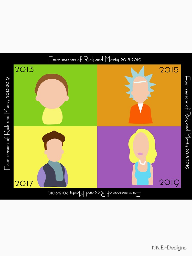 Rick and Morty Seasons by NMB-Designs