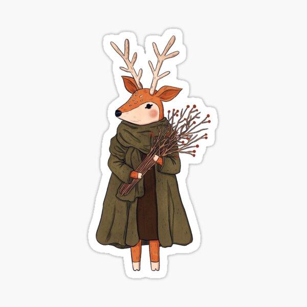 Deer - Collector  Sticker