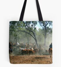 mustering in the Kimberley Tote Bag