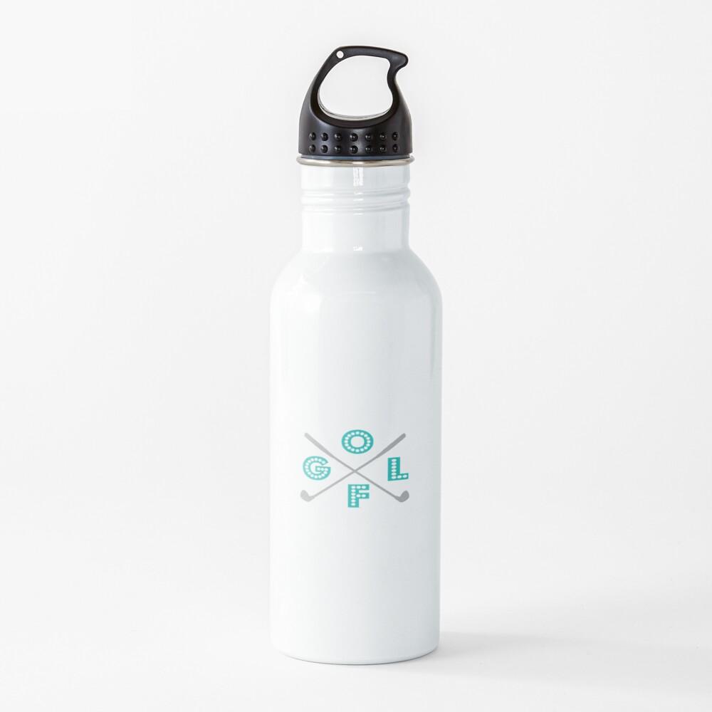 Funny Golf four letter word Gift Design Water Bottle