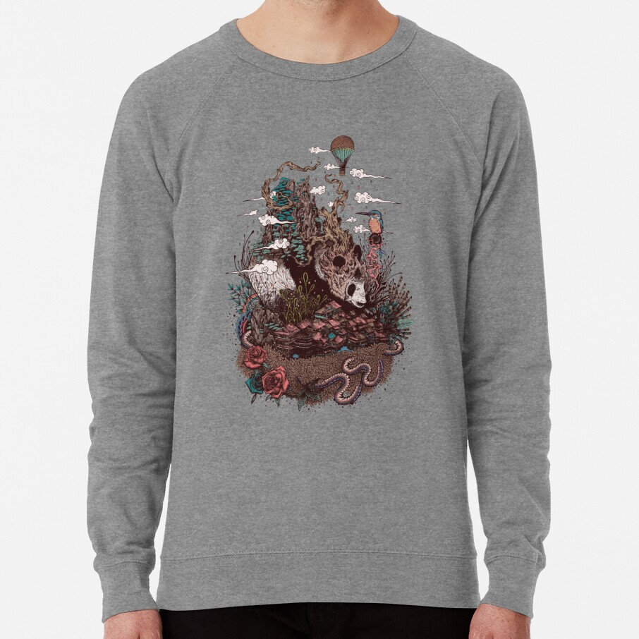 Land of the Sleeping Giant Lightweight Sweatshirt