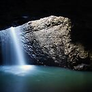 Springbrook Waters - Natural Arch by Alan Gamble