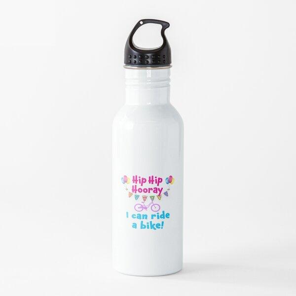 NO más chicas de ruedas de entrenamiento Botella de agua