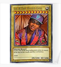 Lil B the based god. Poster