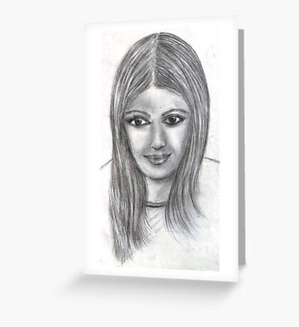 Aishwarya rai.. Greeting Card