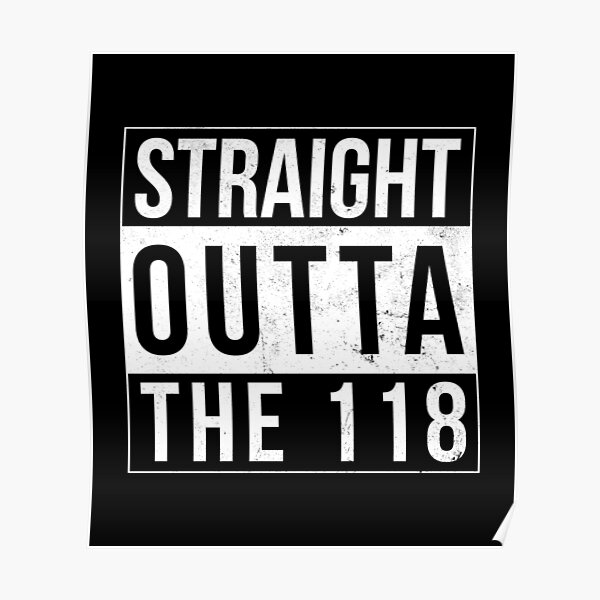 The 118 Poster