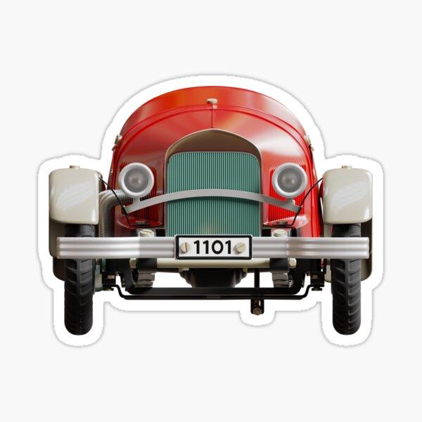 Mercedes-Benz Car Toy (front) Sticker