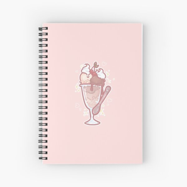 tasty choco icecream  Spiral Notebook