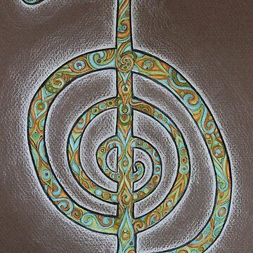 Cho ku Rei Power Symbol  by joyfulart