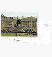 Tsar Peter I  Postcards