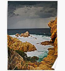 Golden moment  -  eye catcher . Costa Paradiso . Sardegna. Italy . Bella Italia . Saluti Cari Amici !!! by Brown Sugar . Views 1027 . ) OK.ok!!! Poster