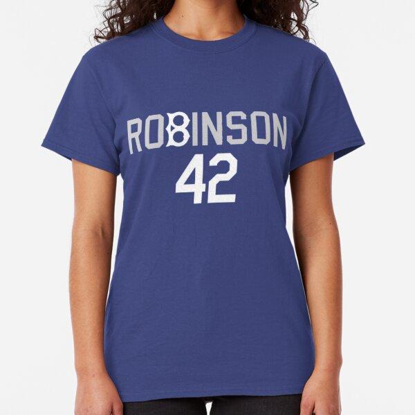 Jackie Robinson - 42 - Brooklyn Dodgers  Classic T-Shirt