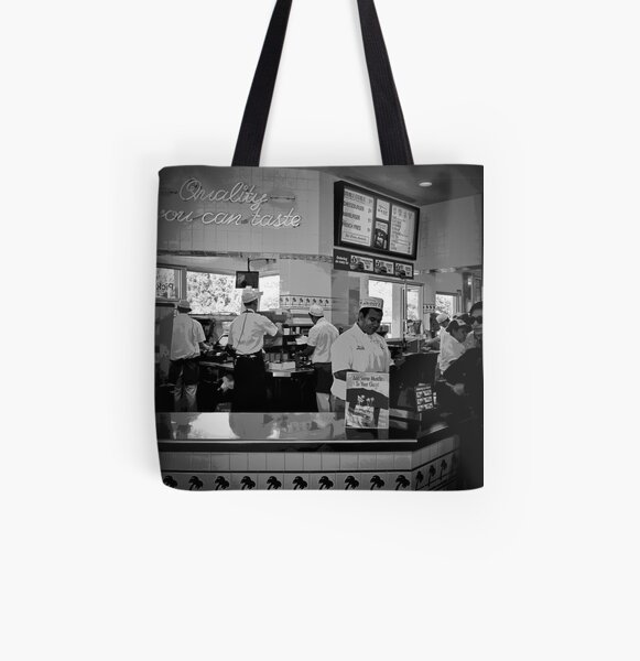 quality you can taste All Over Print Tote Bag