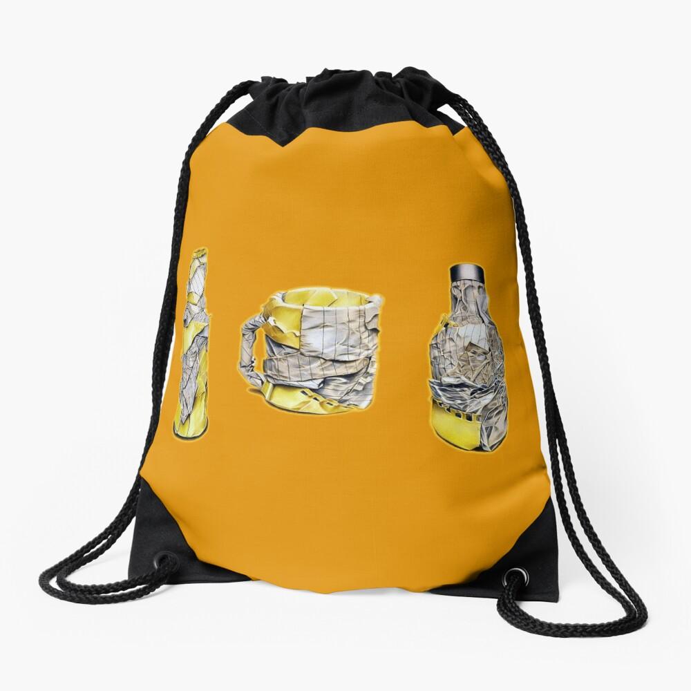 Pres (Colour pencil drawing) Drawstring Bag