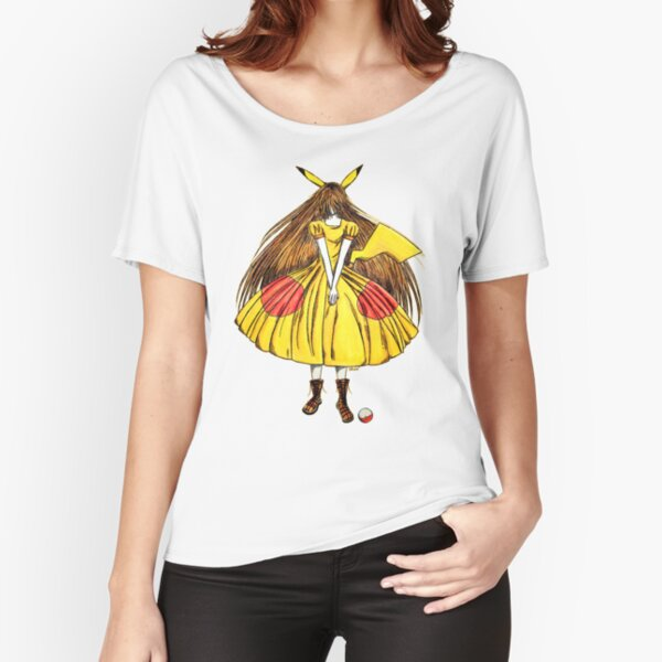 Lady Pikachu Relaxed Fit T-Shirt