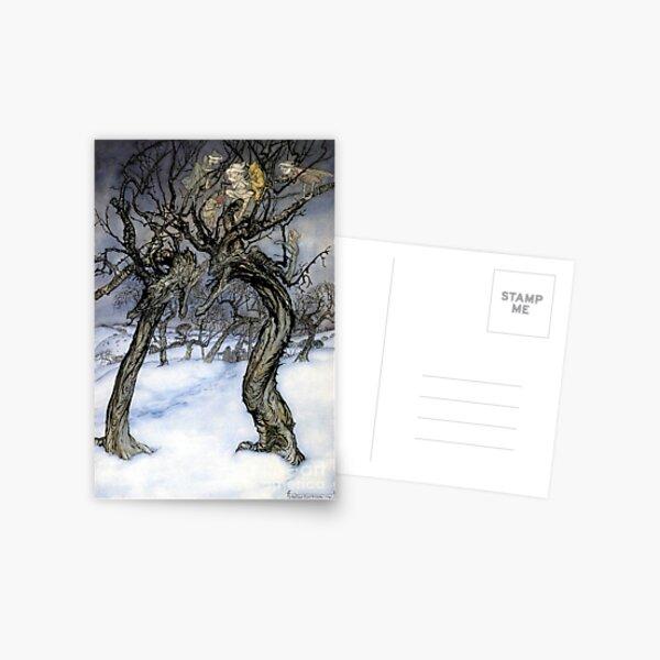 Whispering Trees - Arthur Rackham Postcard
