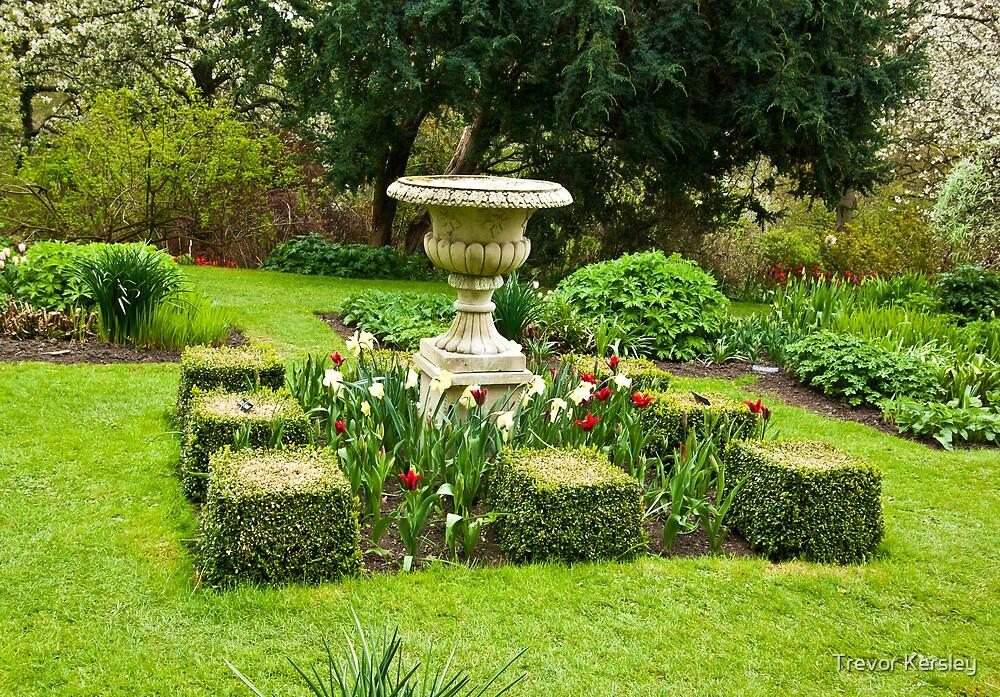 The Garden - Constable Burton by Trevor Kersley