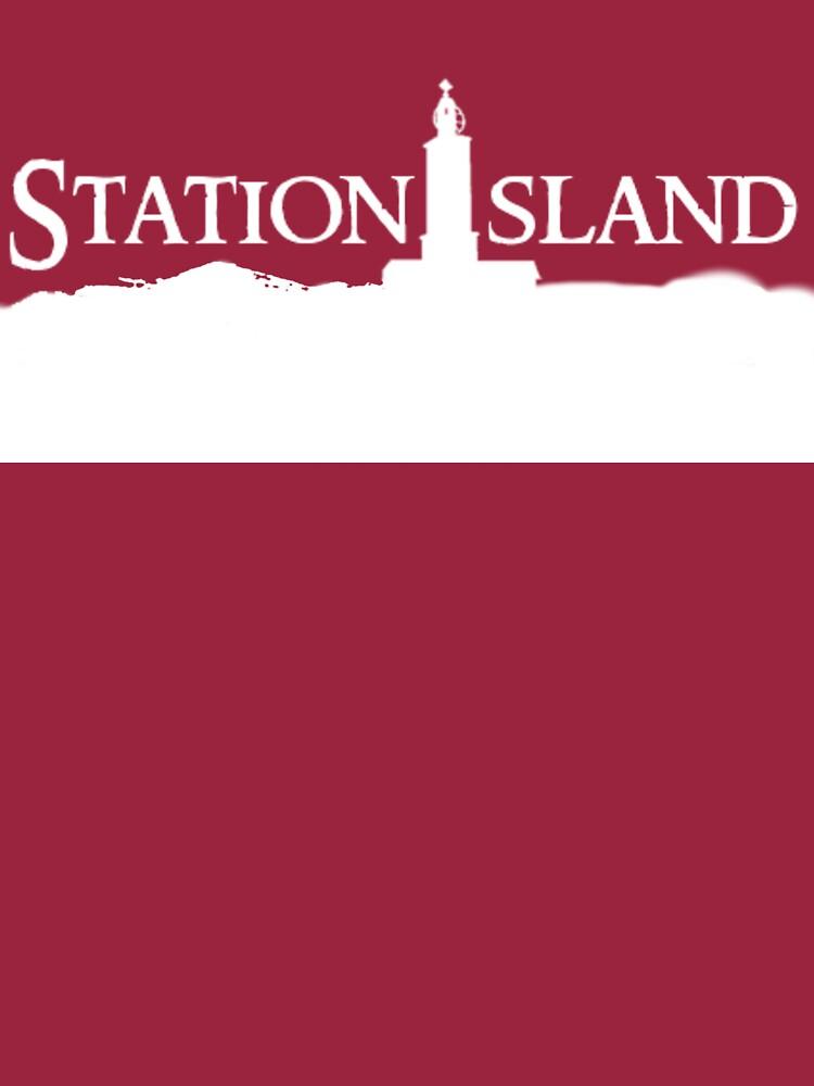Station Island - Logo White by StationIsland