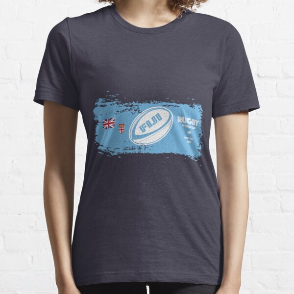 Fiji World Cup Rugby Supporter Essential T-Shirt
