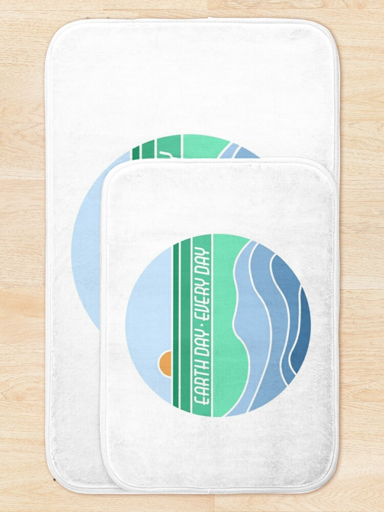 Alternate view of Earth Day Every Day Bath Mat