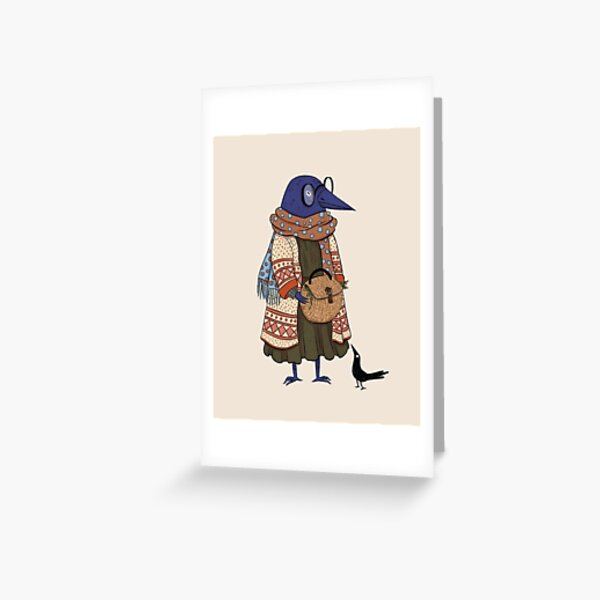 Copy of Koo and Gully - LAYERS Greeting Card
