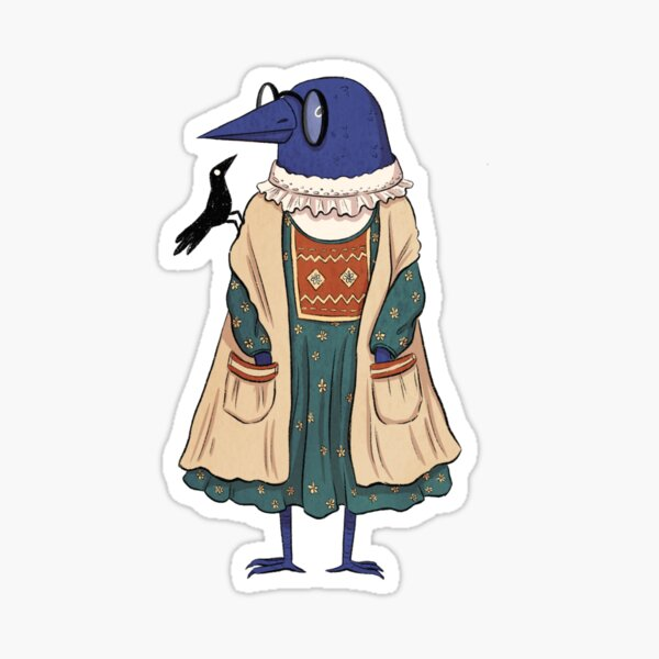 Koo and Gully - Ruffles and Pockets Sticker