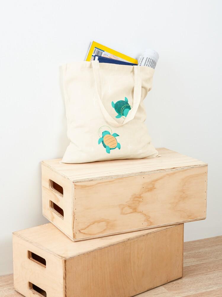 Alternate view of Space Turtles Tote Bag