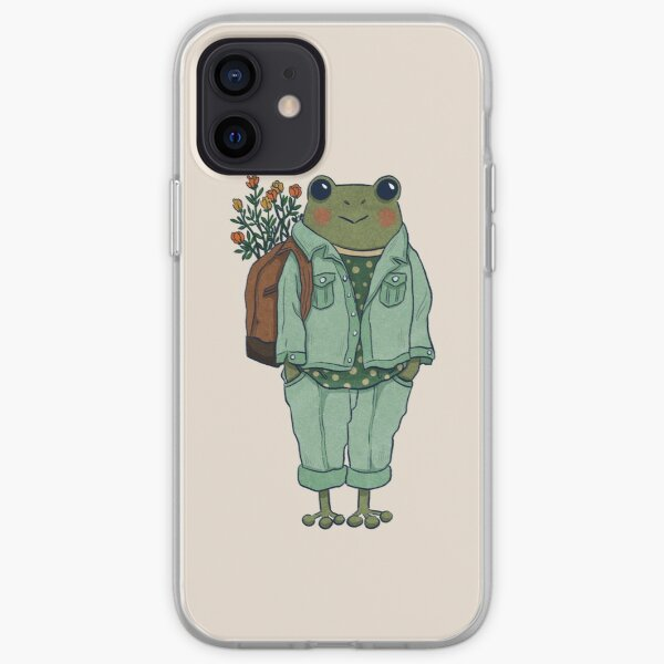 Mr. Frog - Casual  iPhone Soft Case
