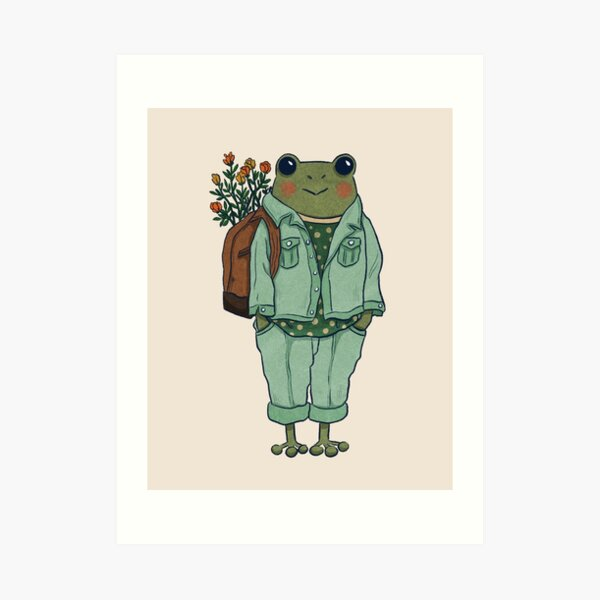 Mr. Frog - Casual  Art Print