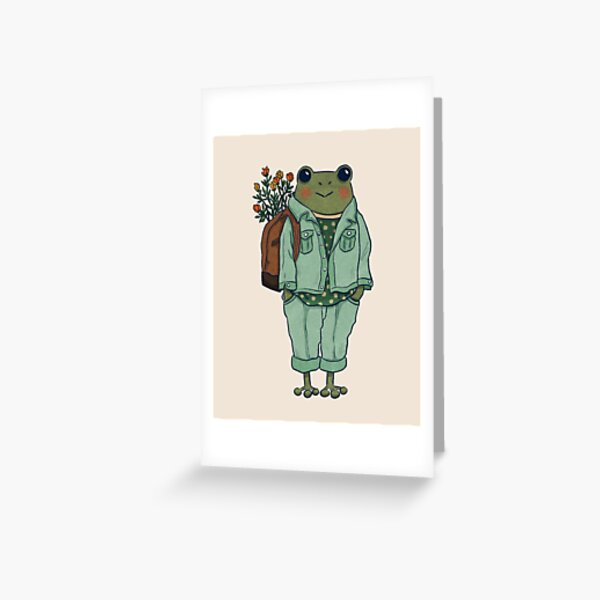 Mr. Frog - Casual  Greeting Card