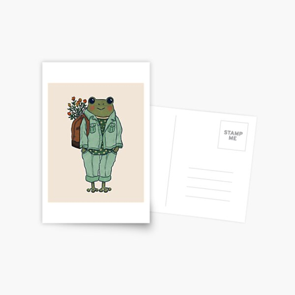 Mr. Frog - Casual  Postcard