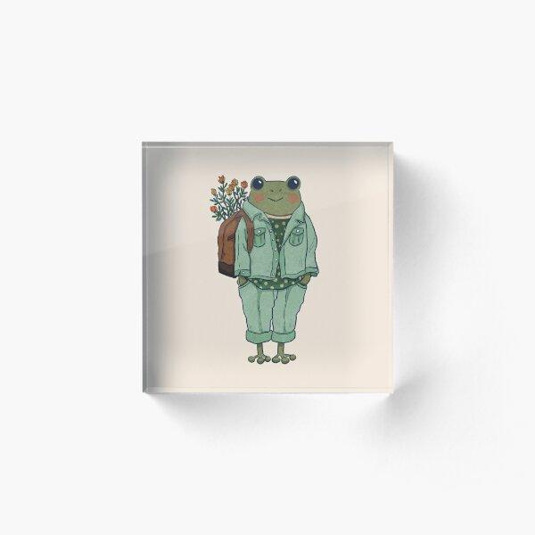 Mr. Frog - Casual  Acrylic Block