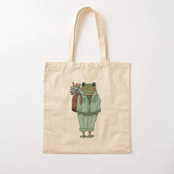 Mr. Frog - Casual  Cotton Tote Bag