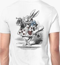 White Rabbit from Alice's Adventures in Wonderland Unisex T-Shirt