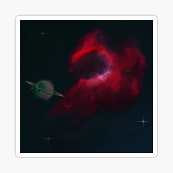 The Bird's Head Nebula Sticker