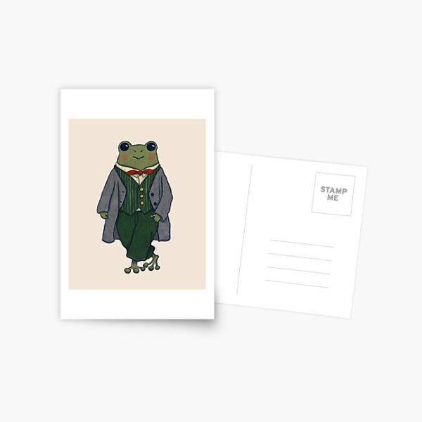 Mr. Frog - Dapper Postcard